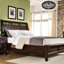 Bedroom - Hayden Sleigh Bed with Storage