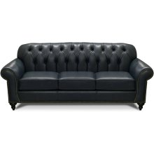 Evan Leather Sofa with Nails 8N05LSN