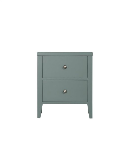 Emerald Home Home Decor 2 Drawer Nightstand-seaform Green B371-04grn