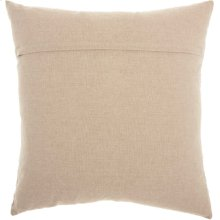 """Life Styles St444 Natural 20"""" X 20"""" Throw Pillows"""