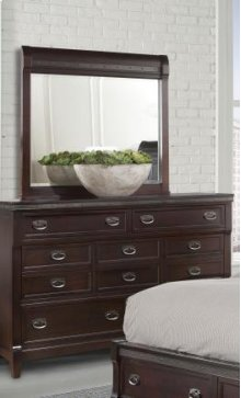 Morgan Road Dresser Mirror w/Hardware