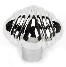 Venetian Knob A1502 - Polished Chrome