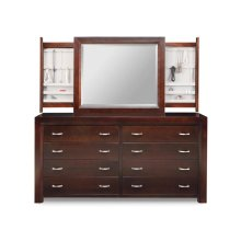 Contempo 8 Deep Drawer Long Dresser