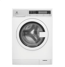 RED HOT BUY-BE HAPPY! Compact Washer with IQ-Touch® Controls featuring Perfect Steam - 2.4 Cu. Ft.