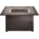Victorian Square Patioflame Table , Bronze , Propane Product Image
