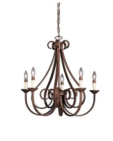 Dover Collection Dover 5 Light Chandelier - TZ