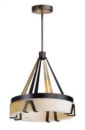 Boulder LED 1-Light Chandelier