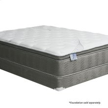 "Queen-Size Stormin 13"" Euro Pillow Top Gel Infused Memory Foam"
