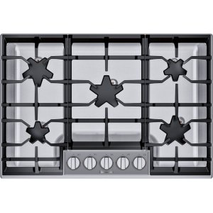 Thermador30-Inch Masterpiece® Pedestal Star® Burner Gas Cooktop, ExtraLow® Select