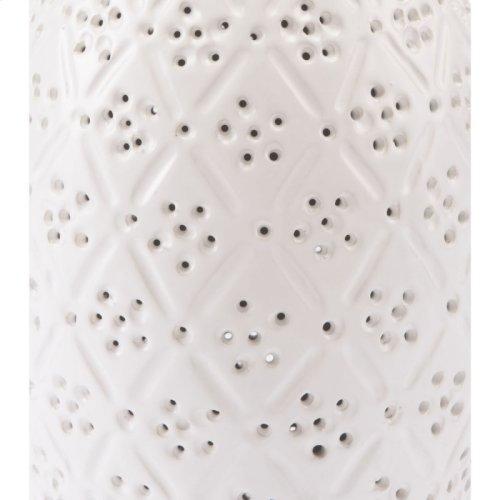 Floral Bottle White