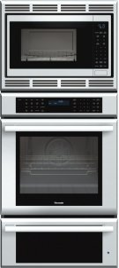 27 inch Masterpiece® Series Triple Oven (oven, convection microwave and warming drawer) MEDMCW71JS Product Image