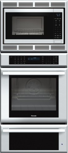 27 inch Masterpiece® Series Triple Oven (oven, convection microwave and warming drawer) MEDMCW71JS