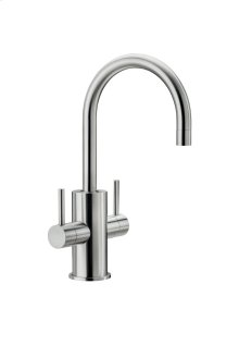 Boiling and filtered water tap.