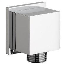 Square Wall Supply - Polished Chrome