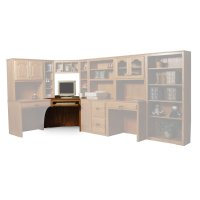 Classic Office Base Unit #11, Left Product Image