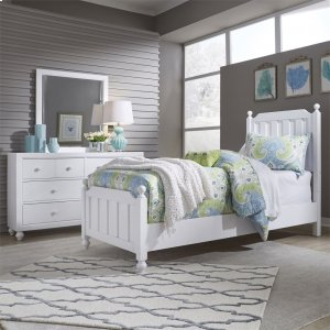 Liberty Furniture Industries Twin Panel Bed, Dresser & Mirror
