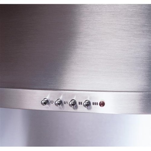 "36"" - Black Range Hood with 400 CFM Internal Blower"