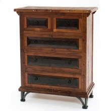 Red River - Tombstone 5 Drawer Dresser