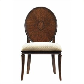 Avalon Heights - Starburst Side Chair In Chelsea
