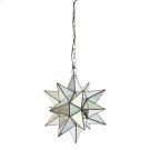 Medium Star Chandelier With Antique Mirror Product Image