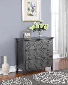 Lucia 3 Drawer Chest SLATE