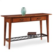 Westwood Oak Two Drawer Sofa Table - Latisse Collection Product Image