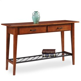 Westwood Oak Two Drawer Sofa Table - Latisse Collection