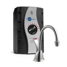 H Wave Instant Hot Water Dispenser - Chrome