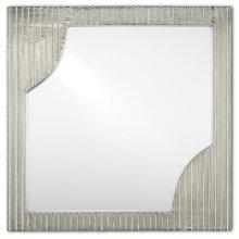 Morneau Silver Square Mirror - 24h x 24w x 1.75d