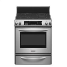 30-Inch 4-Element Electric Freestanding Range, Architect® Series II - Stainless Steel