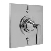 Thermostatic Shower Set with Lisse Handle and Two Volume Controls
