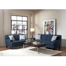 Finley Casual Blue Three-piece Living Room Set Product Image