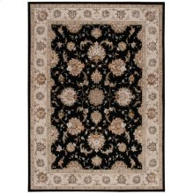 Serenade Srd01 Black Rectangle Rug 5'3'' X 7'5''