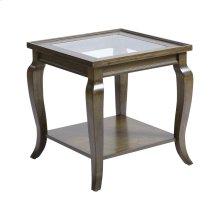 Dutton Antique Brown Side Table