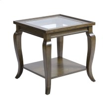 Dutton Side Table In Antique Brown