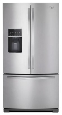 (DISCONTINUED FLOOR MODEL 1 ONLY) 36-inch Wide French Door Bottom Freezer Refrigerator with StoreRight System - 27cu. ft.