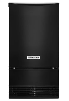 18'' Automatic Ice Maker with PrintShield Finish - Black