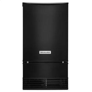 KitchenAid® 18'' Automatic Ice Maker - Black - BLACK