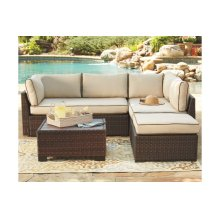 Ashley Outdoor Sectional w/ Table