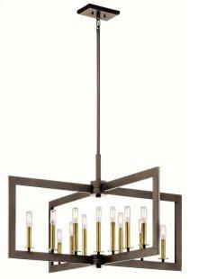 Cullen 13 Light Linear Chandelier Olde Bronze®