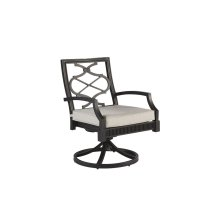 Morrissey Outdoor Phillips Swivel Dining Rocker