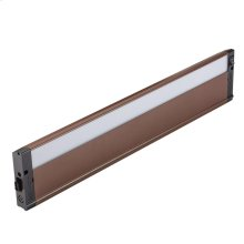 "4U Series LED Collection 22"" LED Cabinet Light 2700K in BZT"
