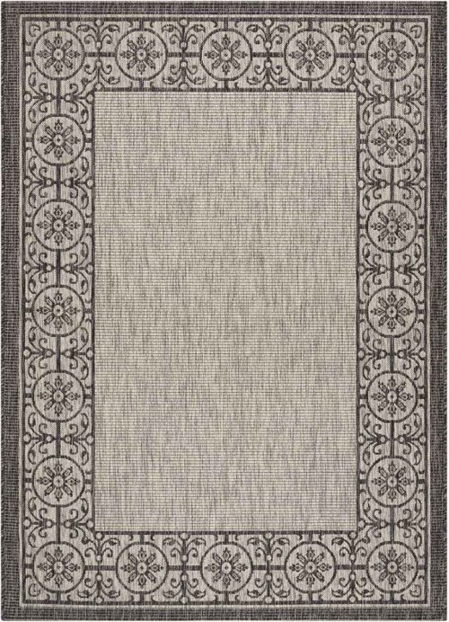Country Side Ctr03 Ivory/charcoal Rectangle Rug 5'3'' X 7'3''