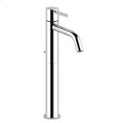 """High version basin mixer with 1 1/4"""" pop-up waste and flexible hoses with 3/8"""" connections Product Image"""