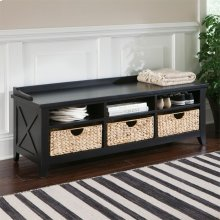 Cubby Storage Bench