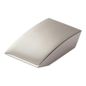 Angled Drop Knob 15/16 Inch - Polished Nickel