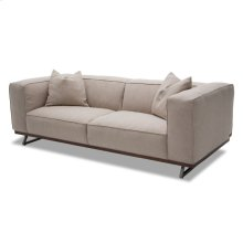 Tempo Sofa With Wood Base