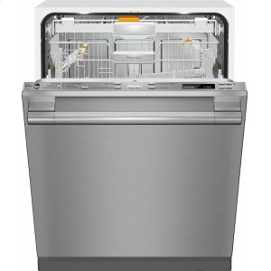 MieleG 6875 SCVi SF AM Fully-integrated, full-size dishwasher with hidden control panel, 3D+ cutlery tray and CleanTouch Steel panel
