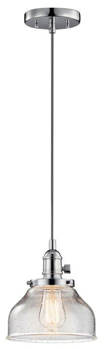 Avery 1 Light Bell Mini Pendant Chrome