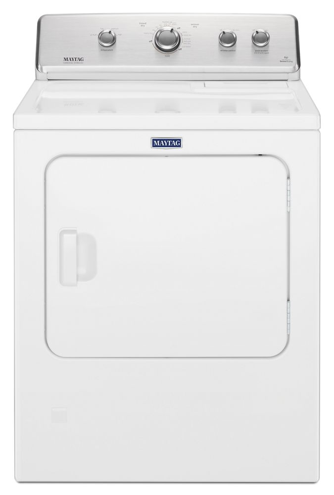 Large Capacity Top Load Dryer with Wrinkle Control - 7.0 cu. ft.  WHITE